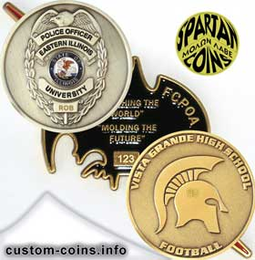 personalized custom coins